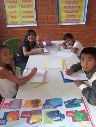 Students at the Peru Mission